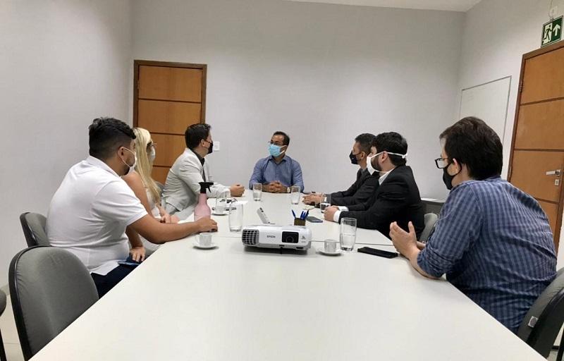 Wagner Rodrigues recebe instituições para tratar de novos investimentos e obras em Araguaína