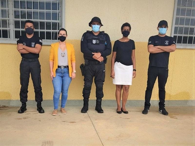 Reunião entre Seciju e promotoria de Gurupi define detalhes para a implantação da Fábrica de Artefatos de Concreto no Complexo Penal de Cariri do Tocantins