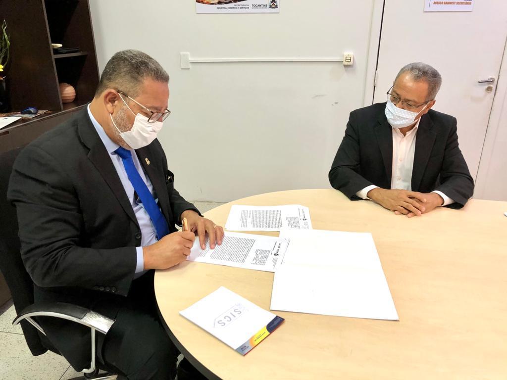 Governo do Estado assina termo de cooperação com o Conselho Regional de Contabilidade