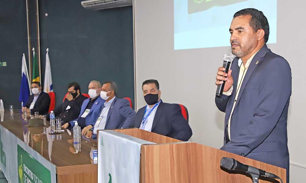 Vice-governador Wanderlei Barbosa reforça gestão municipalista do Governo do Tocantins em evento com prefeitos