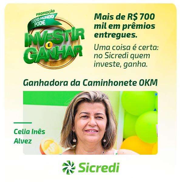 """Promoção """"Todo Mundo Pode Investir e Ganhar"""" do Sicredi sorteou mais de R$700 mil em prêmios"""