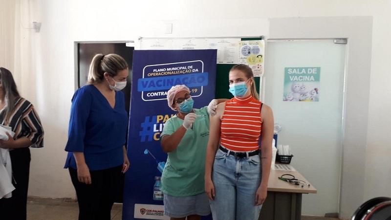 Prefeitura de Palmas inicia a campanha de vacinação contra a Covid-19