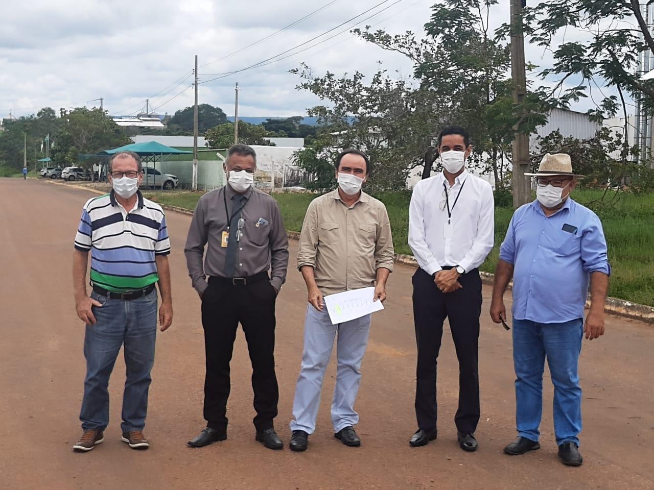 Governo do Tocantins realiza visita aos distritos industriais de Paraíso