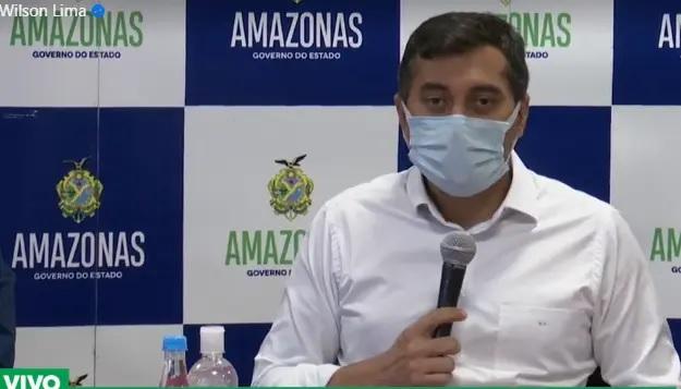 Covid-19: Governador do Amazonas suspende transporte coletivo e decreta toque de recolher