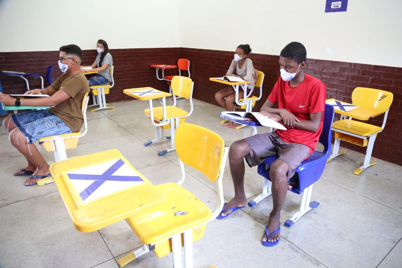 Retorno gradativo de atividades presenciais marca nova etapa na educação do Tocantins