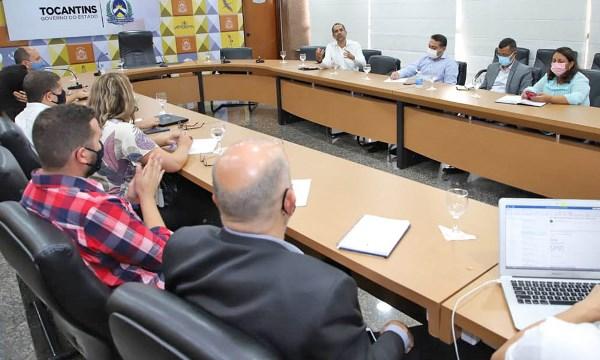 Governo do Tocantins apresenta carteira do Programa de Parcerias e Investimentos para técnicos do BNDES