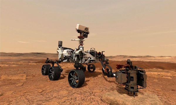 Veja as primeiras imagens enviadas de Marte pelo robô Perseverance