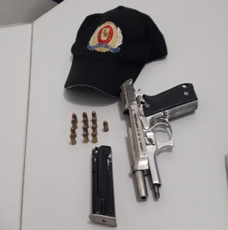 PM prende homem por porte ilegal de arma de fogo em Palmas