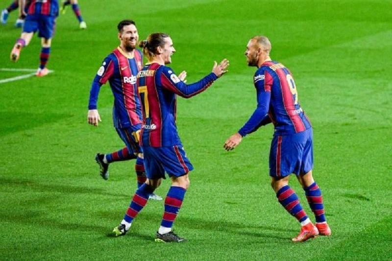 Barcelona goleia o Sevilla e garante vaga na final da Copa do Rei