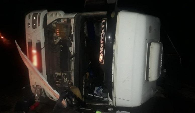 Acidente na BR-153, em Colinas, deixa cinco pessoas feridas