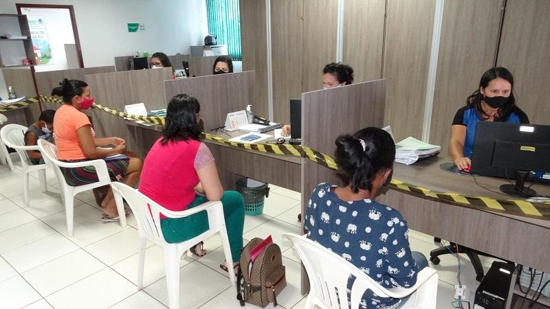 Equipe do Cadastro Único realiza mais de 600 atendimentos em Paraíso no mês de fevereiro
