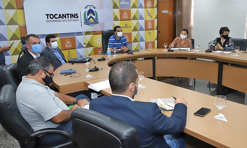 Vice-governador secretários discutem projetos voltados à preservação do meio ambiente no TO