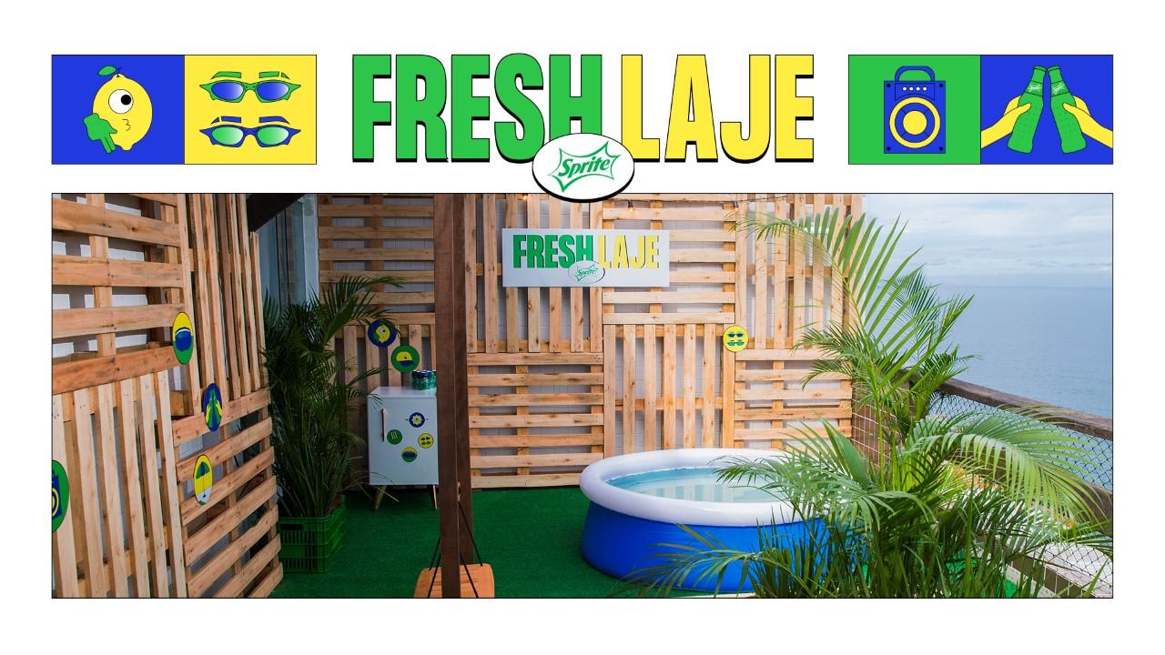 Com Fresh Laje, Sprite tuna lajes por todo o Brasil