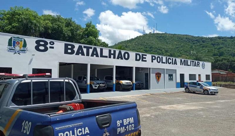 PM prende dois homens com mandados de prisão em Paraíso e Barrolândia