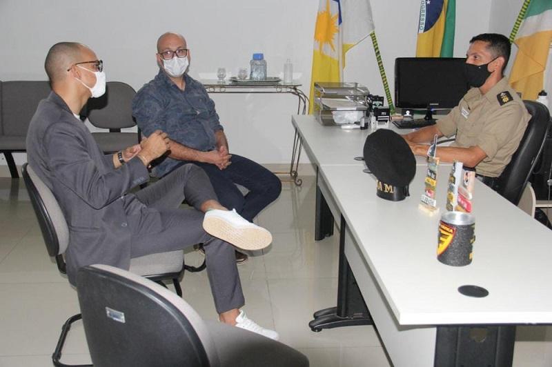 Prefeitura de Gurupi e PM reforçam parceria no combate à Covid-19