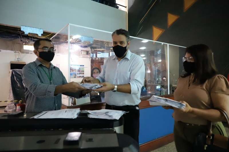 Governo do Tocantins protocola contas dos ordenadores de despesas no TCE/TO