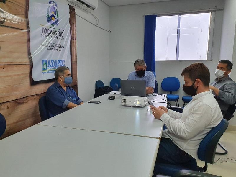 Grupo gestor se reúne para debater ações do plano estratégico para retirada da vacinação contra febre aftosa