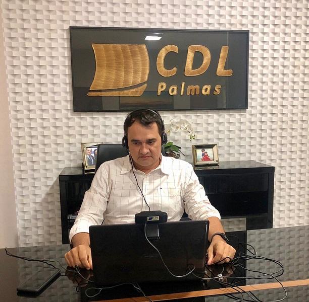 CDL Palmas participa de reunião com prefeita e se posiciona sobre fechamento do comércio