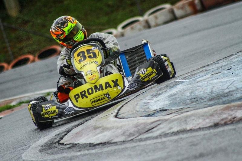 Pedro Aizza compete na Copa Aldeia de Kart neste fim de semana