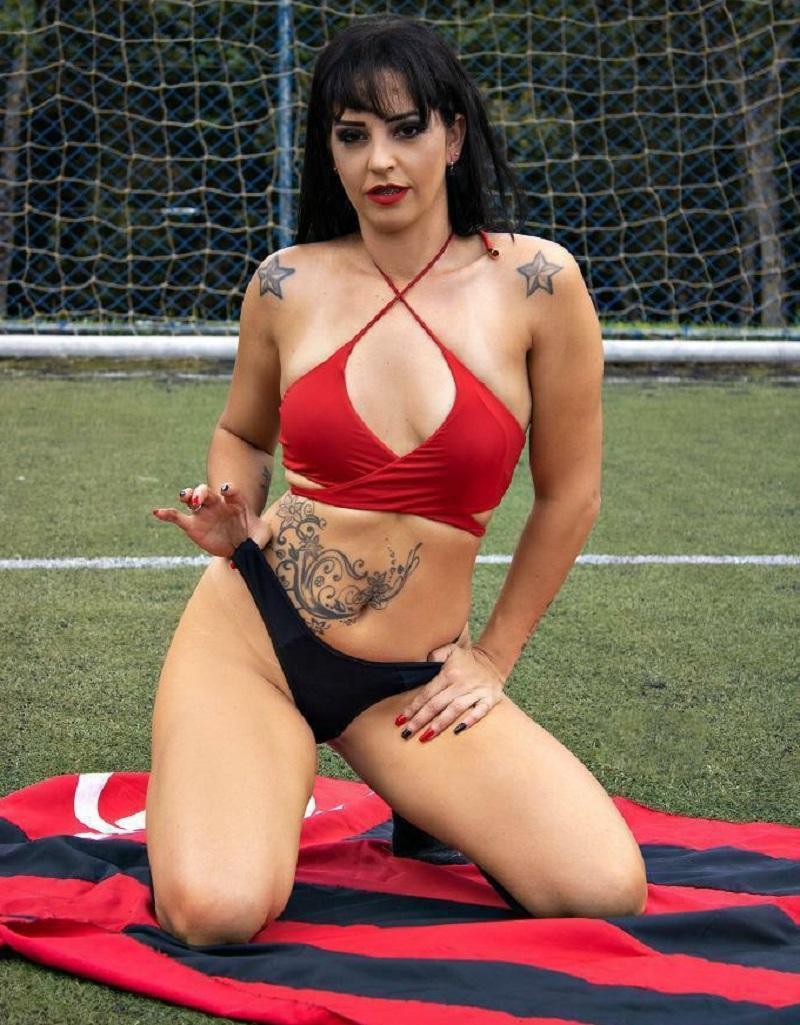 Cleide Moreira disputa para ser Musa do Flamengo