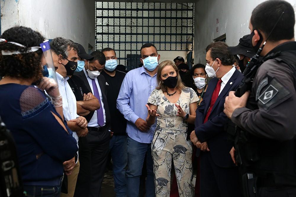 Defensoria Pública participa de vistoria às obras de ampliação na CPP de Palmas