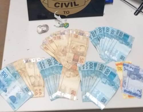 Divisão de Narcóticos da Polícia Civil prende dois suspeitos por tráfico de drogas em Araguaína