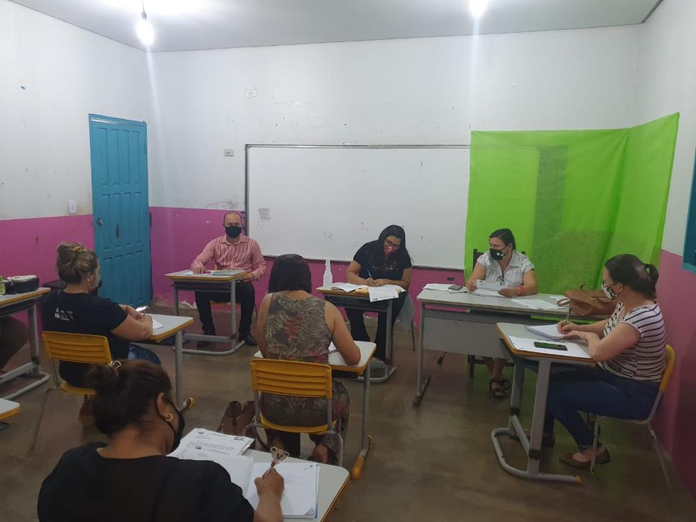 Educadores de Caseara avaliam trabalho após conclusão do 1º bimestre letivo