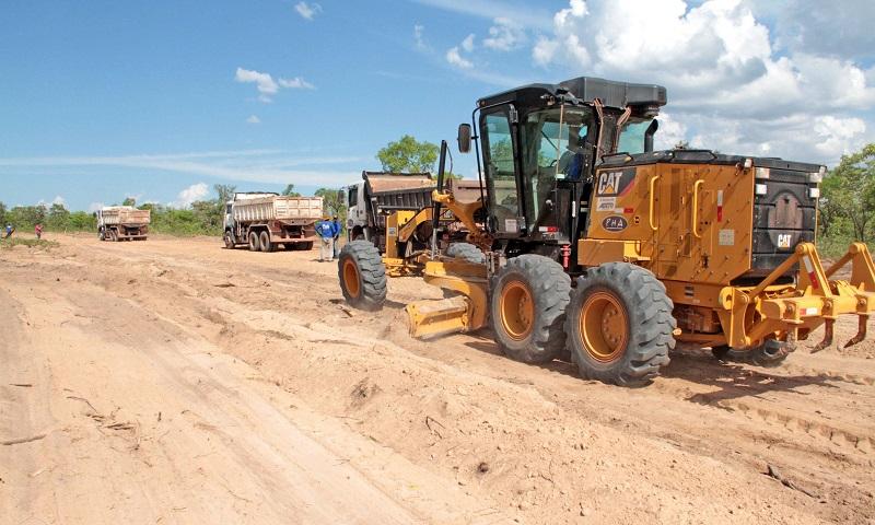 Carlesse assina Ordem de Serviço para pavimentação asfáltica da estrada de acesso ao Jalapão