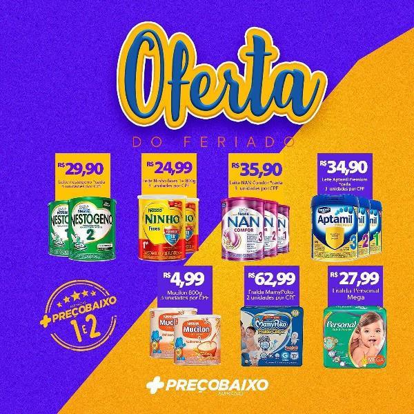 Feriado chega com promoção na Farmácia Preço Baixo de Paraíso