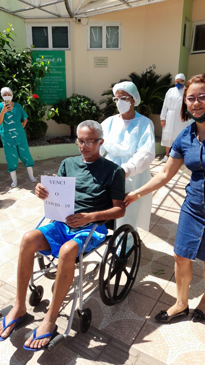 Capitão Deusimar vence a Covid-19 e tem alta hospitalar após 40 dias internado em Gurupi