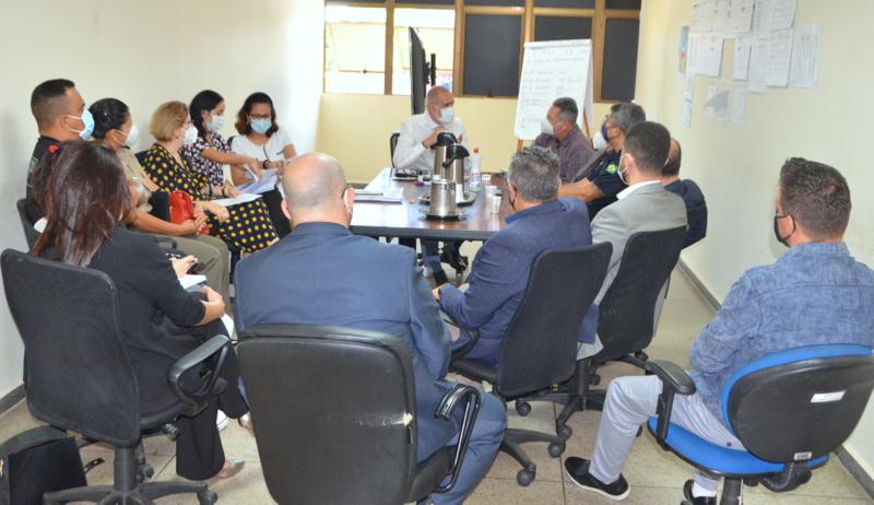Reunião analisa inclusão das forças de segurança no grupo prioritário de imunização contra a Covid-19