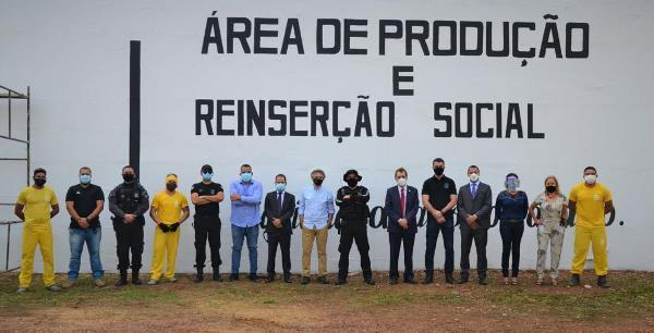 Unidade Penal de Palmas recebe visita técnica de representantes dos Órgãos do Sistema de Justiça e do Conselho Penitenciário