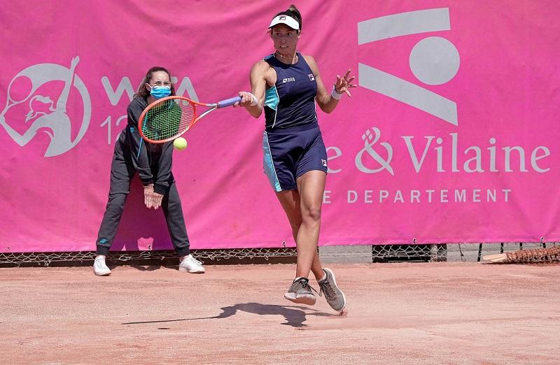 Luisa Stefani vai à semifinal nas duplas no WTA 125 de Saint Malo, na França