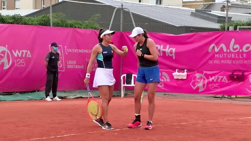 Luisa Stefani estreia no WTA 1000 de Roma, na Itália