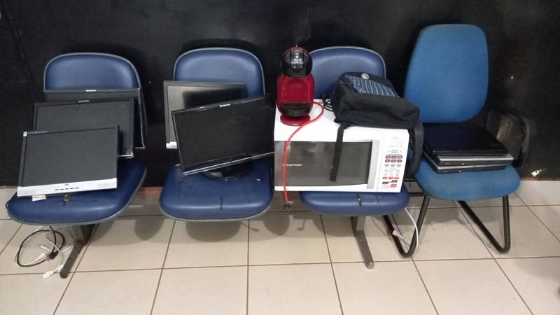 Polícia Civil do Tocantins recupera objetos furtados da Controladoria-Geral do Estado