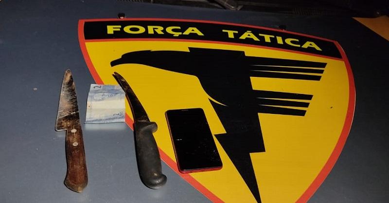 Polícia Militar prende dois homens por roubo em Araguaína