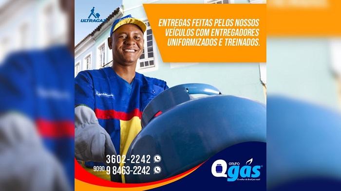Grupo QGás contrata entregadores com experiência, em Paraíso-TO