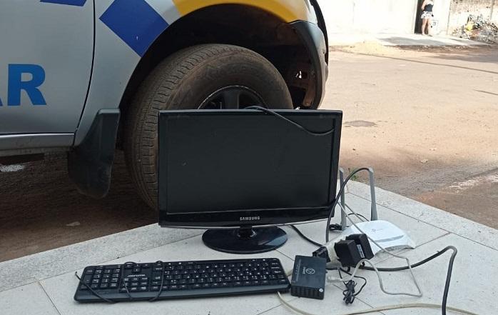 4ª CIPM prende suspeito por furto e recupera objetos em Lagoa da Confusão