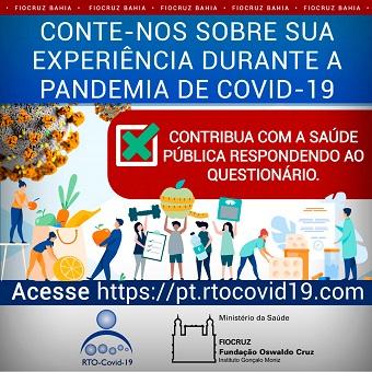 Pesquisa visa identificar terapias mais usadas para Covid-19