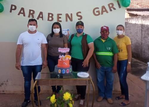 Prefeitura de Rio dos Bois homenageia profissionais da limpeza urbana