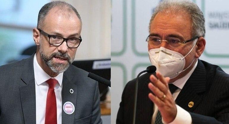 Ministro da Saúde e diretor da Anvisa depõem nesta quinta na CPI