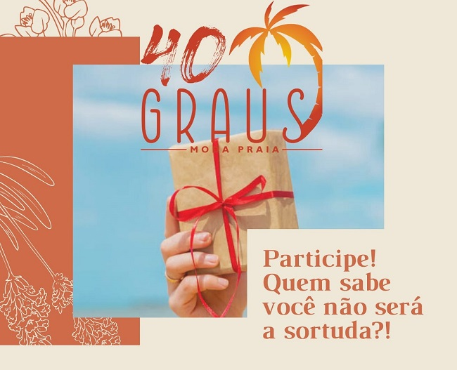 Sorteio: Participe da Promoção das Mães na 40 Graus Moda Praia e concorra a R$ 250 em compras