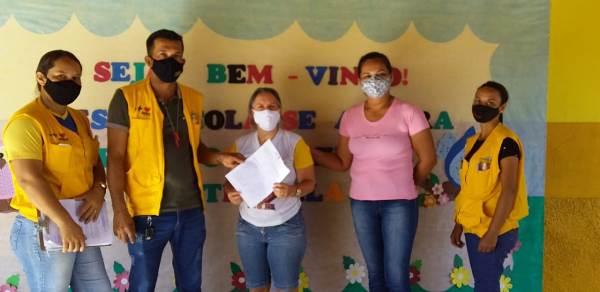 Vigilância Sanitária de Barrolândia orienta escolas para retorno das aulas presenciais