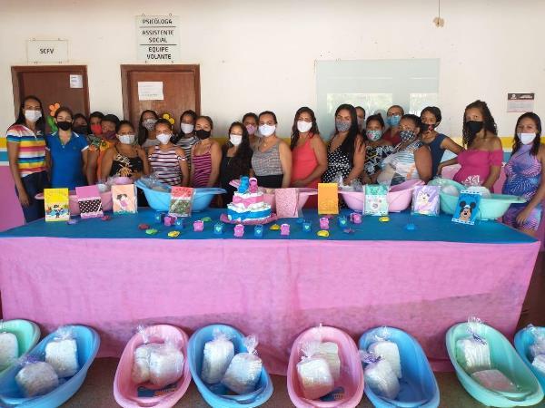 Assistência Social de Caseara promove primeiro encontro do projeto Bebê a Bordo