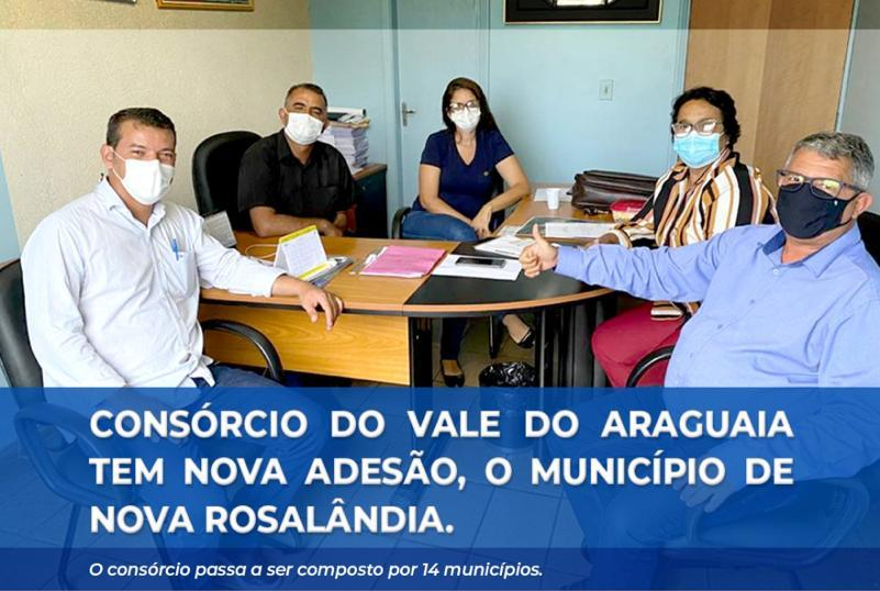 Nova Rosalândia passa a integrar consórcio de municípios do Vale do Araguaia