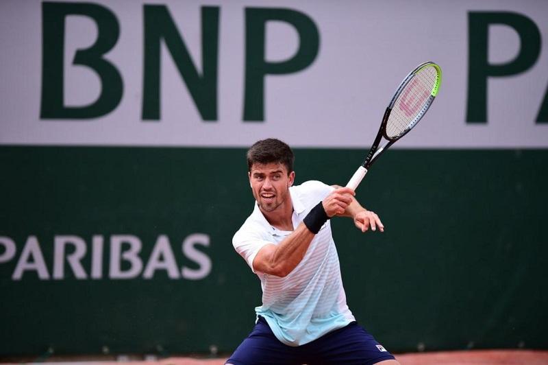 João Menezes estreia no quali de Wimbledon
