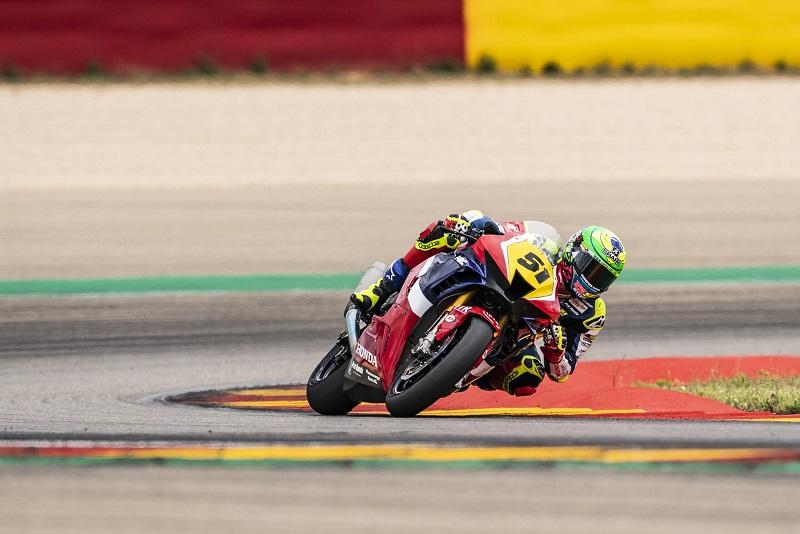 Eric Granado vai ao pódio pela segunda vez no Campeonato Espanhol de Superbike 2021