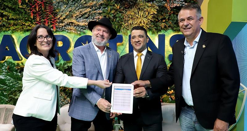 Governador Carlesse faz avaliação positiva da Agrotins e anuncia formato híbrido para próxima edição
