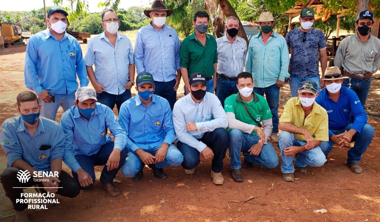 Avanço na produção de grãos estimula qualificação de mão de obra para máquinas e implementos de alta tecnologia em Araguaçu
