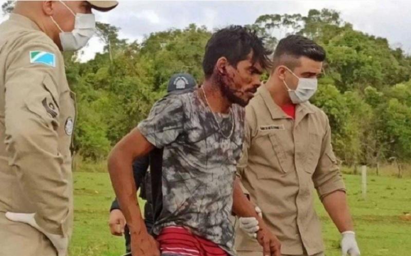 Confundido com Lázaro Barbosa, homem é sequestrado e brutalmente espancado, em Campo Grande